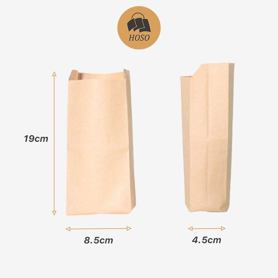 Túi giấy đựng bánh mỳ đáy bằng B1
